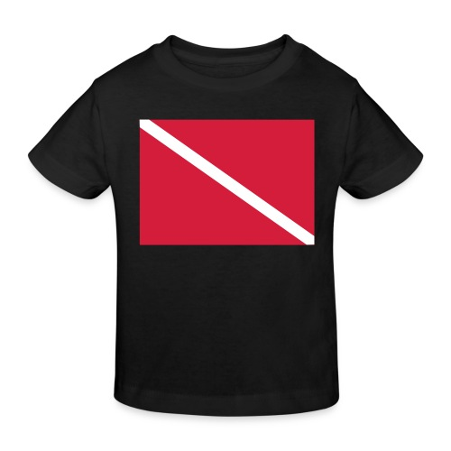 Diver Flag - Kids' Organic T-Shirt