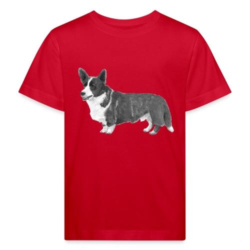 welsh Corgi Cardigan - Organic børne shirt