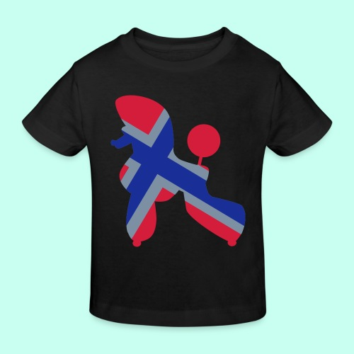 Pudel Poodle - Kinder Bio-T-Shirt