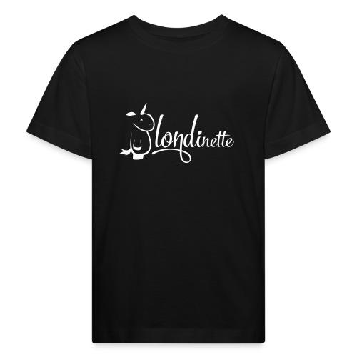 Blondinette - T-shirt bio Enfant
