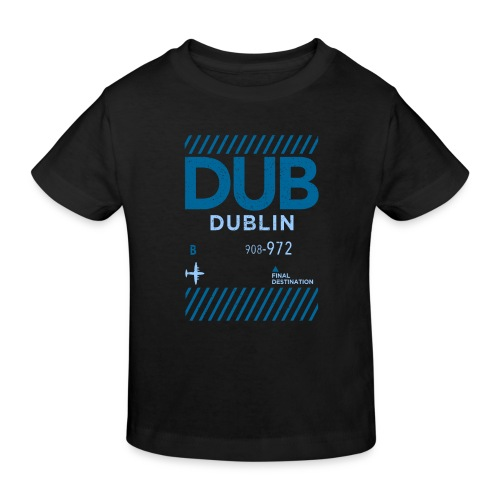 Dublin Ireland Travel - Kids' Organic T-Shirt
