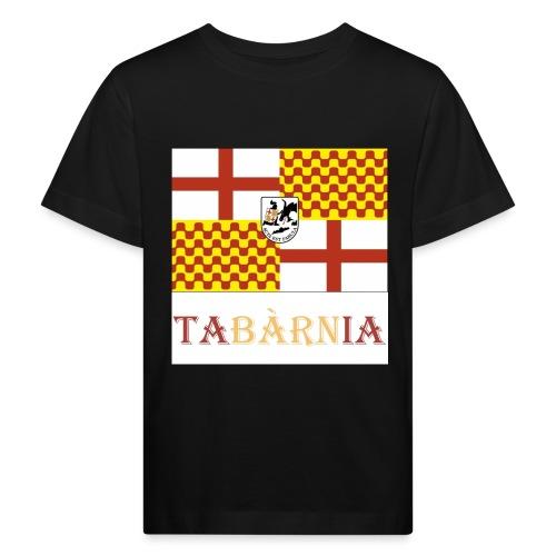 Bandera Tabarnia con escudo y nombre - Camiseta ecológica niño