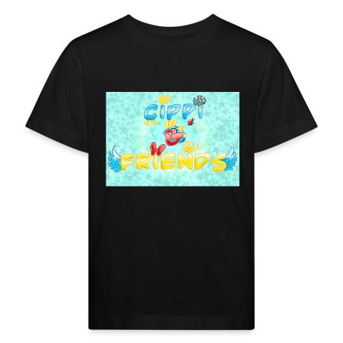 Tazza Cippi & Friends - Maglietta ecologica per bambini