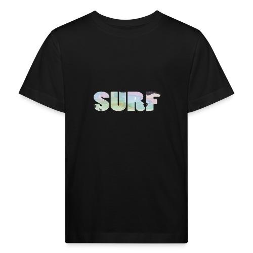 Surf summer beach T-shirt - Kids' Organic T-Shirt