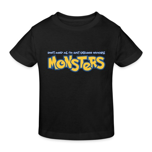 Monsters - Kids' Organic T-Shirt
