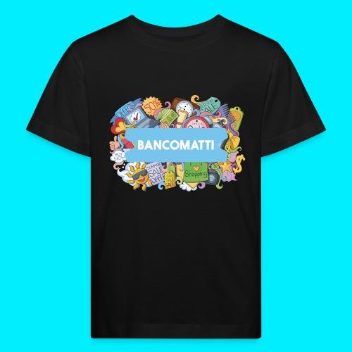 Bancomatti DOODLE 1 - Maglietta ecologica per bambini