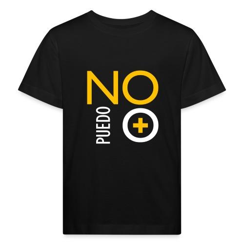 No puedo más - Camiseta ecológica niño