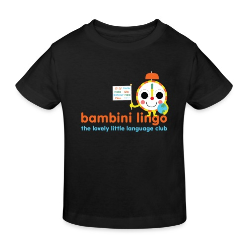 bambini lingo - the lovely little language club - Kids' Organic T-Shirt