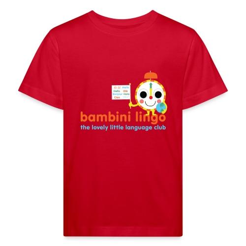 bambini lingo - the lovely little language club - Kids' Organic T-Shirt
