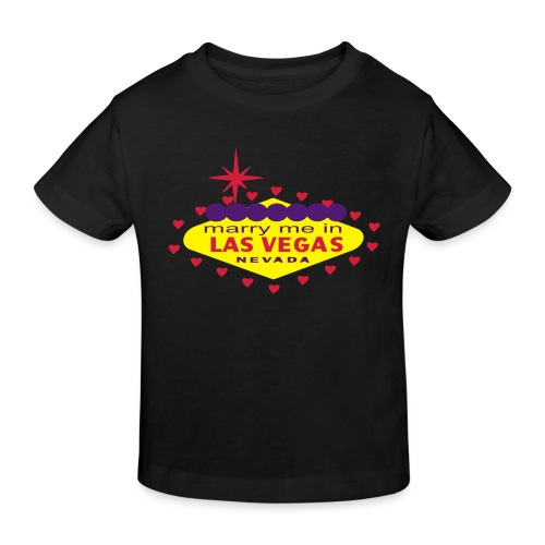 create your own las vegas wedding product - Kids' Organic T-Shirt