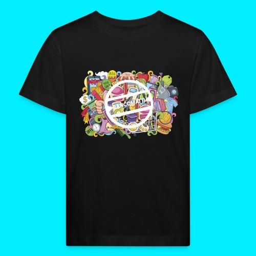 maglia logo doodle - Maglietta ecologica per bambini