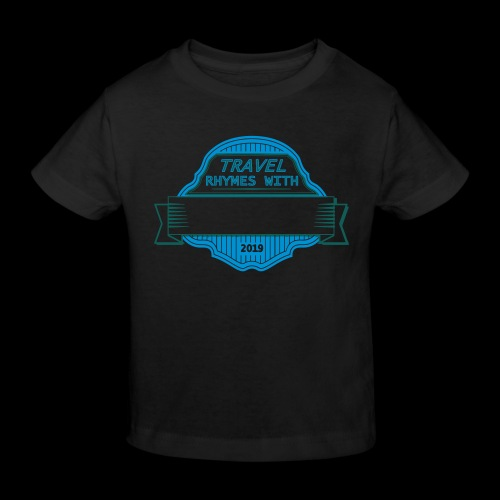 CUSTOMIZE TRAVEL RHYMES W - Kids' Organic T-Shirt