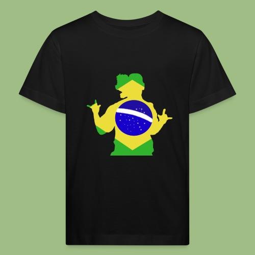 Ronaldinho Brazil - Ekologisk T-shirt barn