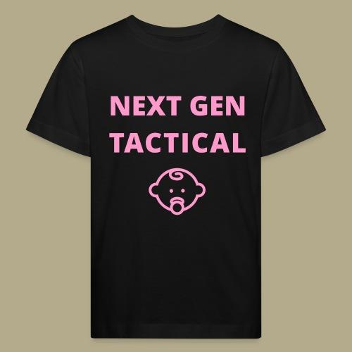 Tactical Baby Girl - Kinderen Bio-T-shirt