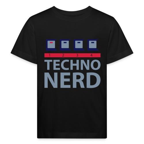 Techno Nerd - Kids' Organic T-Shirt