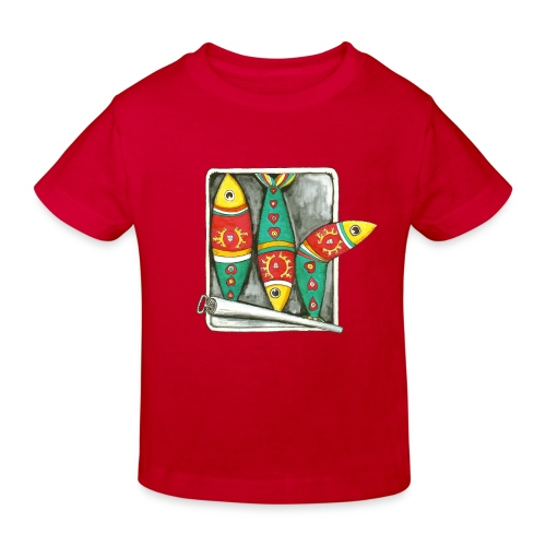 Les sardines du Portugal - T-shirt bio Enfant