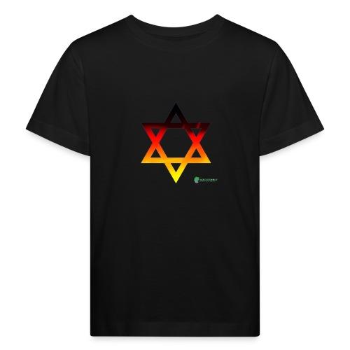 deutschland davidstern transparent - Kinder Bio-T-Shirt