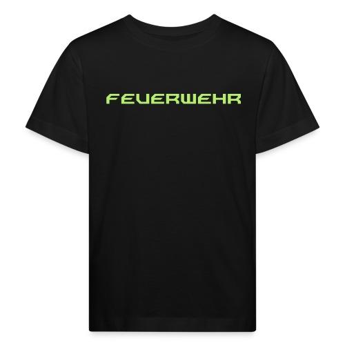 FEUERWEHR Nechao Sharp Farbe Giftgruen - Kinder Bio-T-Shirt