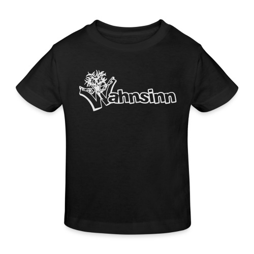 Wahnsinn Logo - Kinderen Bio-T-shirt