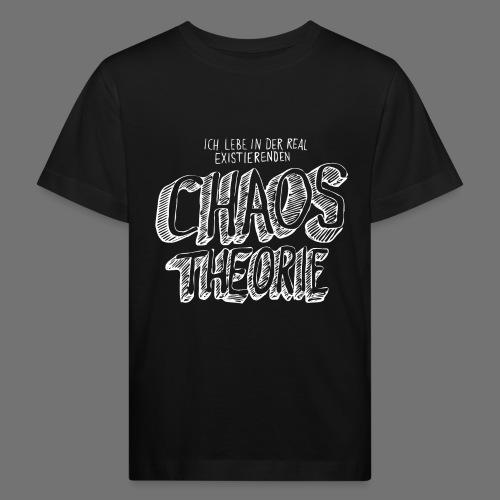 Chaos Theory (valkoinen) - Lasten luonnonmukainen t-paita