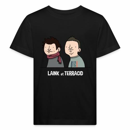 Laink et Terracid old - T-shirt bio Enfant