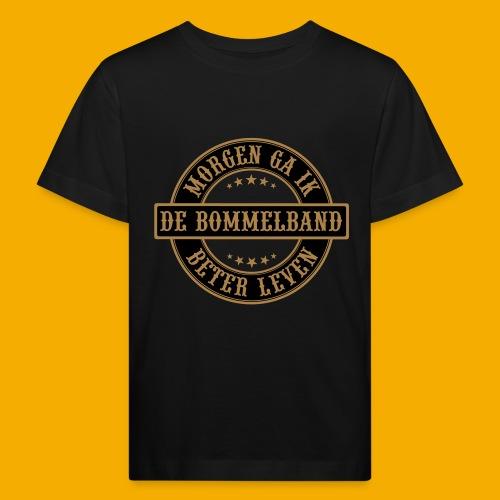 bb logo rond shirt - Kinderen Bio-T-shirt