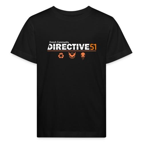 D51recy png - T-shirt bio Enfant