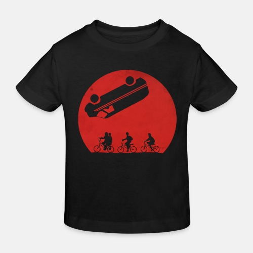 Stranger Things Eleven 80's Design - Kinder Bio-T-Shirt