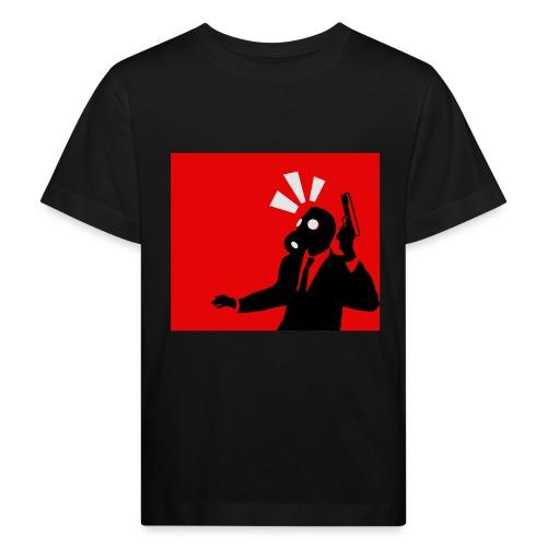Gasmask - Kids' Organic T-Shirt