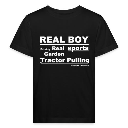 teenager - Real boy - Organic børne shirt
