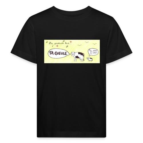 Vache pas laitière - T-shirt bio Enfant