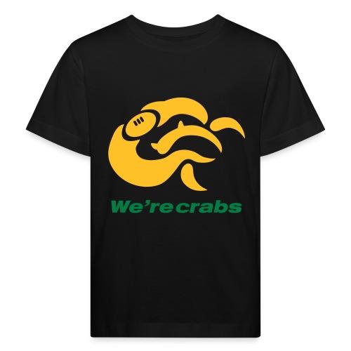 Crazycrab_Australia - Maglietta ecologica per bambini