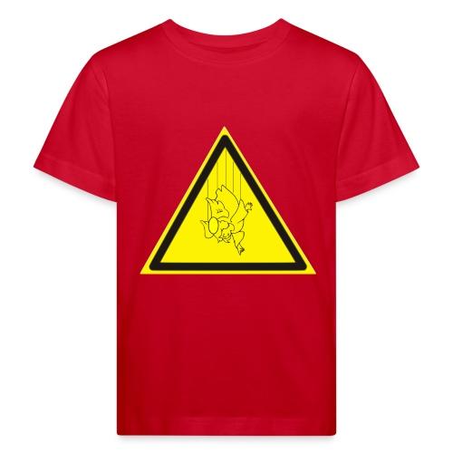 pericolo-caduta-santi - Maglietta ecologica per bambini