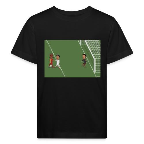 Backheel goal BG - Kids' Organic T-Shirt