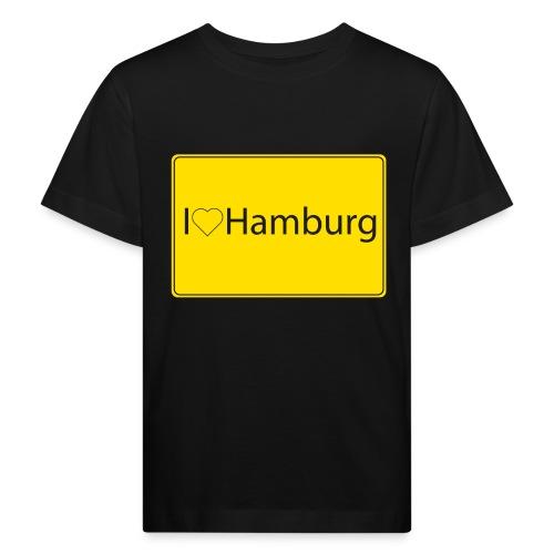 I love hamburg - Kinder Bio-T-Shirt