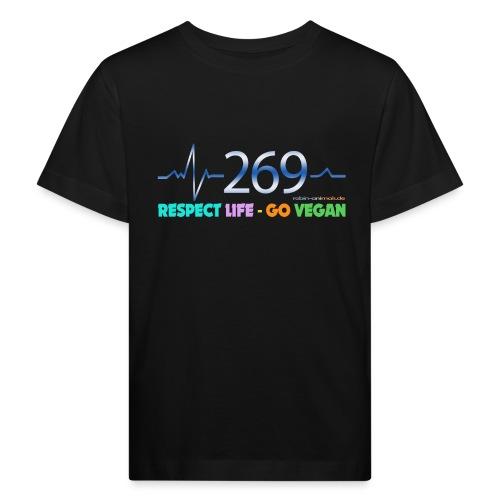 269 RESPECT LIFE - Kinder Bio-T-Shirt
