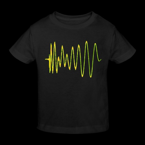 Boom 909 Drum Wave - Kids' Organic T-Shirt