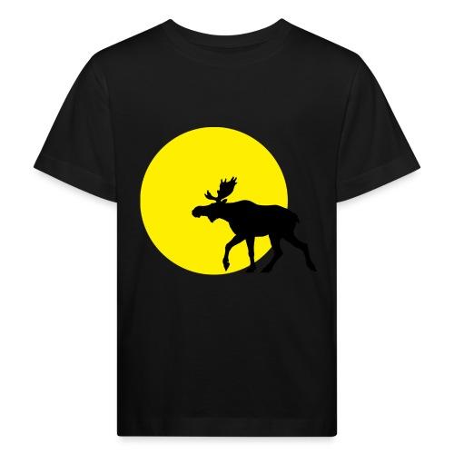 elgisolnedgang1 - Økologisk T-skjorte for barn