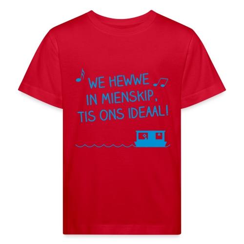mienskip boat - Kinderen Bio-T-shirt