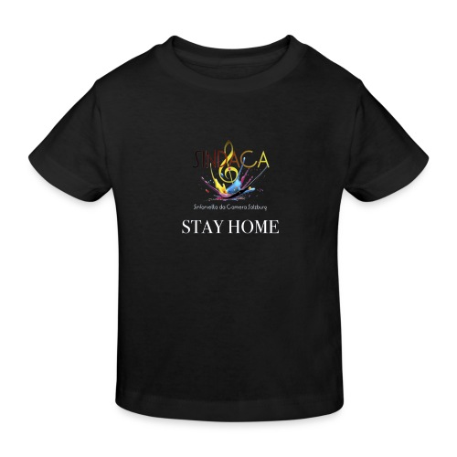 stay home04 - Kinder Bio-T-Shirt