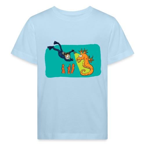 Rencontre sous-marine - T-shirt bio Enfant