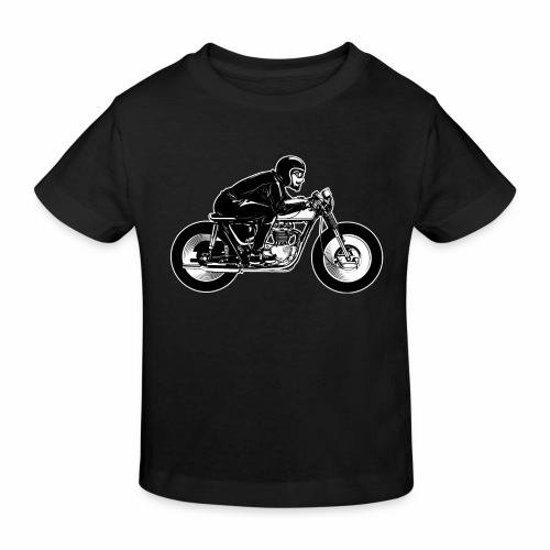 Cafe Racer 2c - Kids' Organic T-Shirt