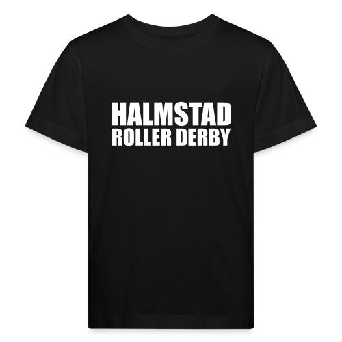 textlogga vit - Ekologisk T-shirt barn