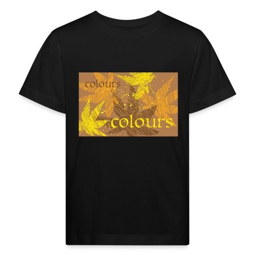 autumn theme - Ekologiczna koszulka dziecięca