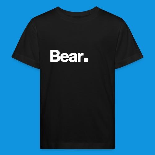 Bear. Retro Bag - Kids' Organic T-Shirt