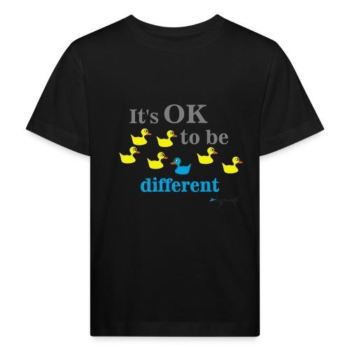 It's OK to be different - Ekologiczna koszulka dziecięca
