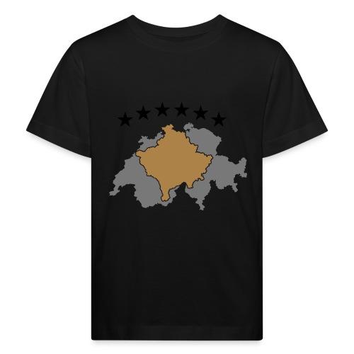 Kosovo Schweiz - Kinder Bio-T-Shirt