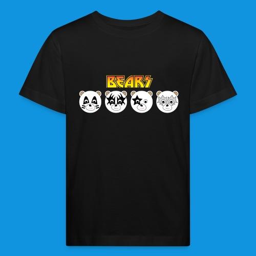 Kiss Bears.png - Kids' Organic T-Shirt