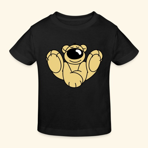 Yoga Bär - Kinder Bio-T-Shirt