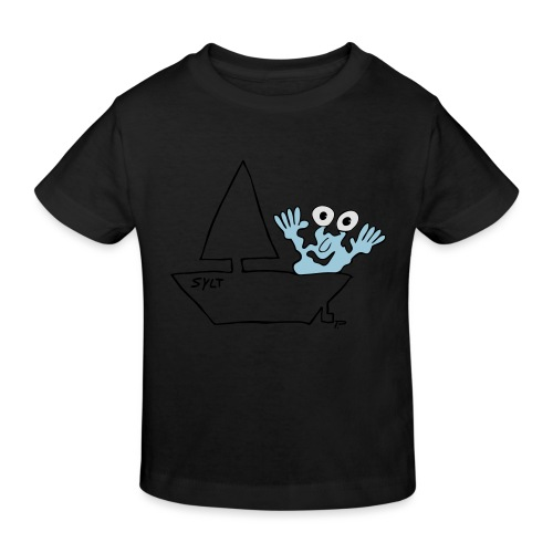 Segelmonster Sylt - Kinder Bio-T-Shirt